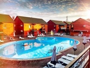 бассейн кирилловка люкс отдых азовсом море красиво курорт украина