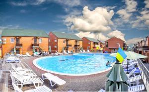 бассейн кирилловка люкс отдых азовсом море красиво курорт украина лутшая база отдыха в кириловке